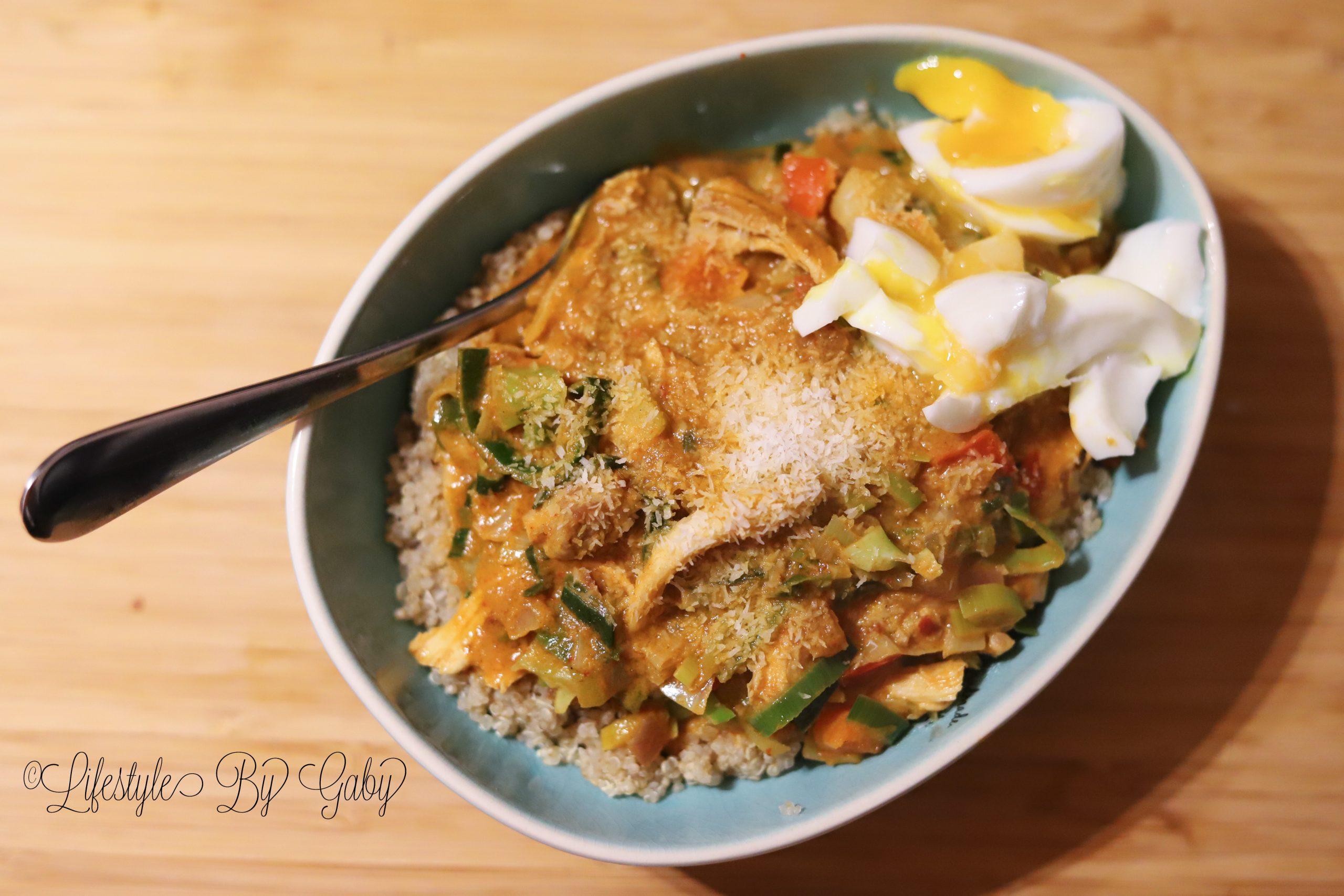 #40. Zelfgemaakte Indische Rode Curry