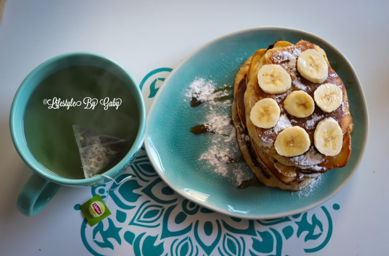 Zelfgemaakte luchtige American Pancakes